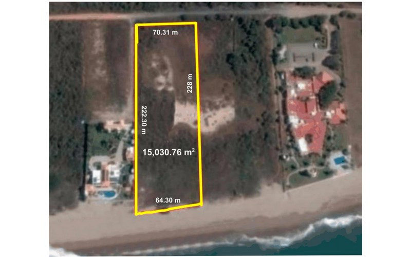 Se vende terreno en La Escopama - Mazatlán