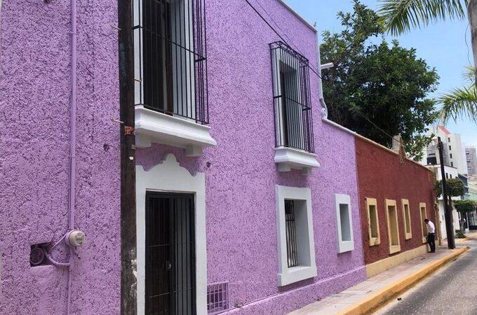 Se vende casa en en Centro Histórico de Mazatlán