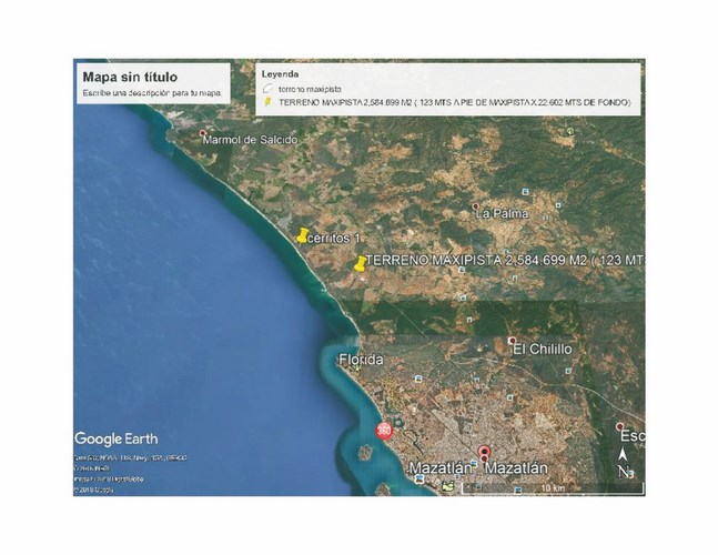Se vende terreno en Puerta al Mar - Mazatlán