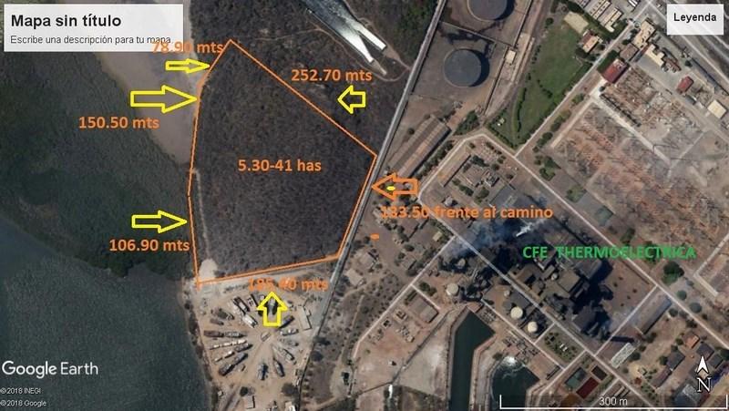 Se vende terreno en La Sirena - Mazatlán