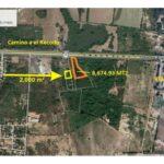 Se vende terreno en Carretera Internacional al Sur - Mazatlán