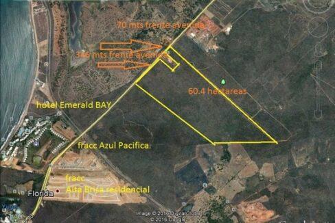 Se vende terreno en Habal Cerritos - Mazatlán