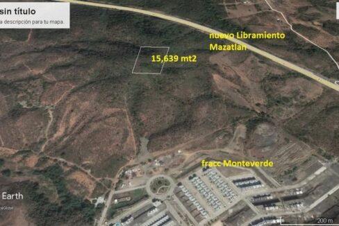 Se vende terreno en Fracc. Monte Verde - Mazatlán