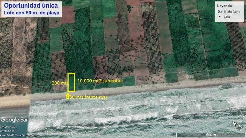 Oportunidad única, lote con 50 mts. de playa en Isla de la Piedra