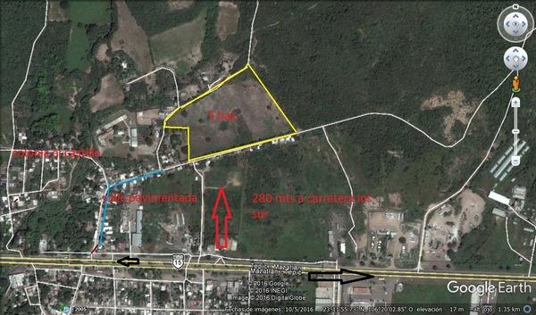 Se vende terreno en El Castillo - Mazatlán