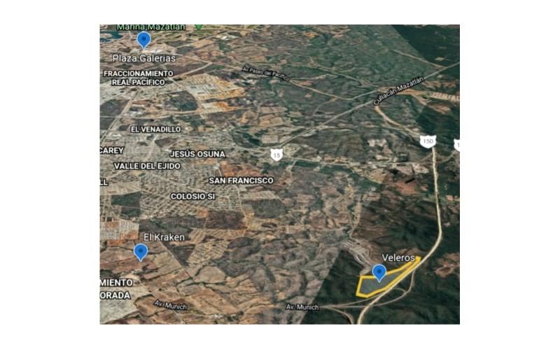 Se venden Lotes en Veleros - Mazatlán